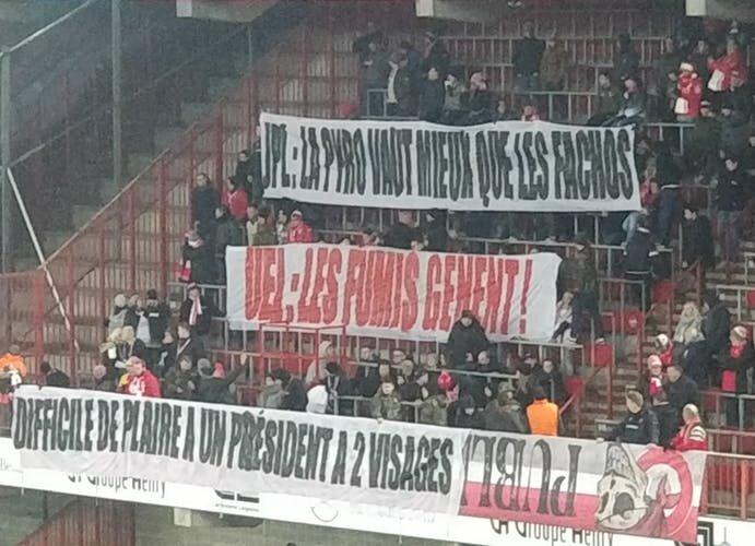 Les Ultras et le PHK ont réagi différemment à Sclessin : Bruno Venanzi visé